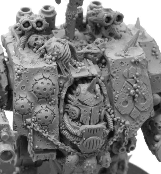 Forge World Death Guard Dreadnought sarcophagus