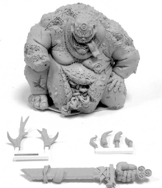 Components for the Forge World Great Unclean One