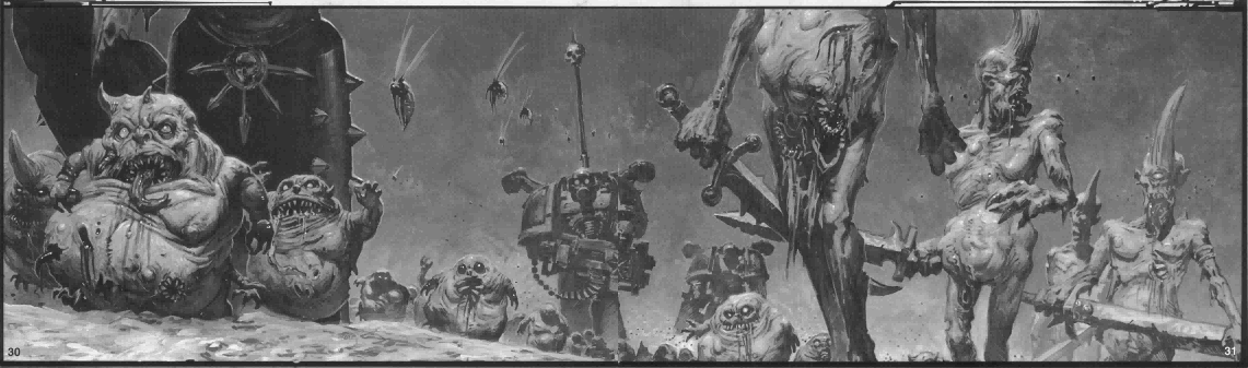 The Forces of Nurgle