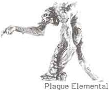 Plague Elemental miniature
