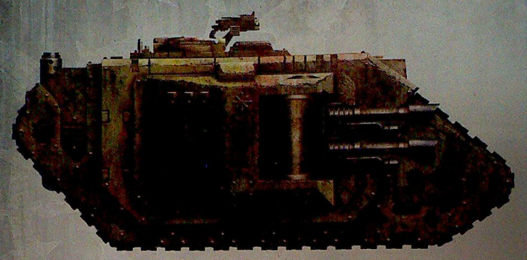 Land Raider of the Death Guard