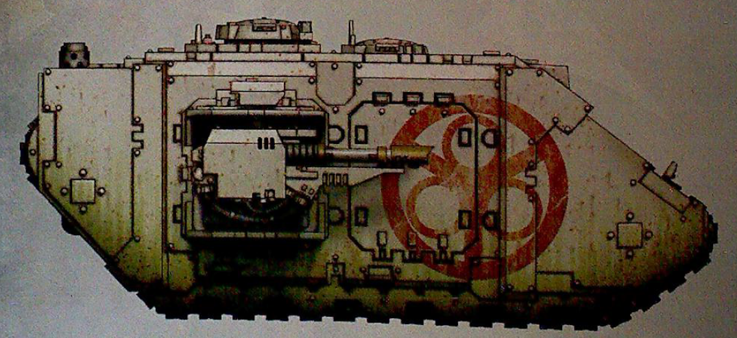 Land Raider of The Lords of Decay