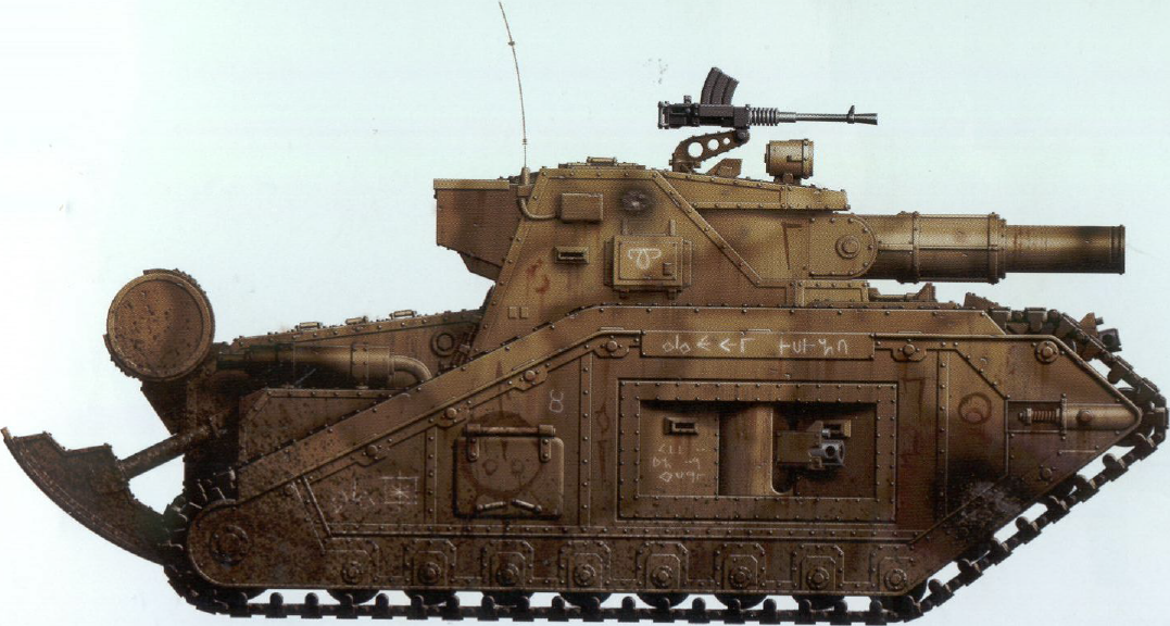 Malcador heavy tank - side view