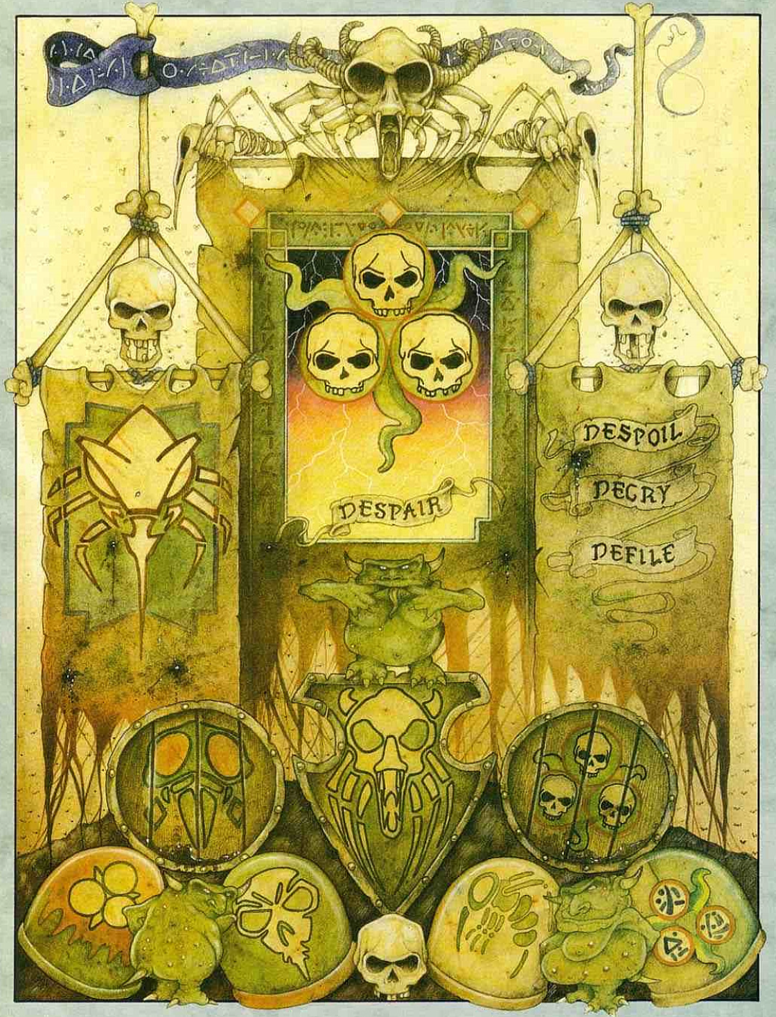 Symbols of the Great Power Nurgle